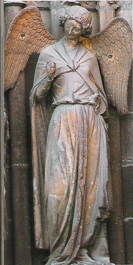 Cathédrale de Reims : L'Ange au sourire