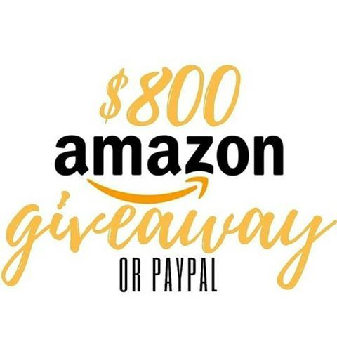 "Go to @solovelyloopgiveaway..⏱ In 30 seconds you can be entered to win a $800 amazon shopping spree or paypal cash by following these quick & easy steps listed below! OPEN WORLDWIDE! ..How to enter:💥1. ""LIKE"" this post💥2️. Head to @solovelyloopgiveaway & follow everybody they follow! ..Ends on 9/8 @ 10pm ESTThis is no way sponsored by Instagram. Open worldwide with cash option. Winner will be announced within 24 hours on the giveaway page."