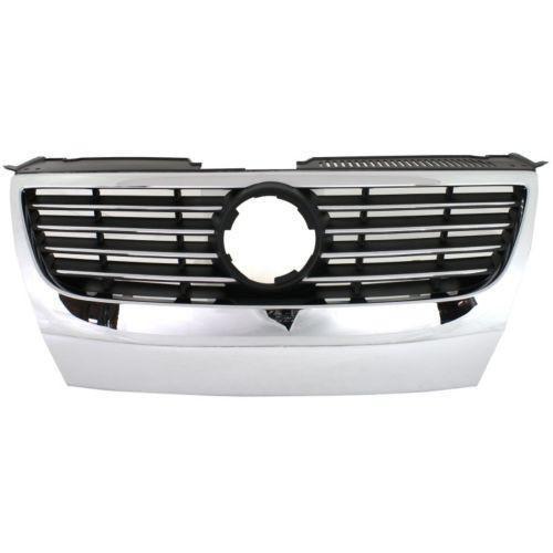 2006 2010 Volkswagen Passat Grille Chrome Shell Black W Chrome Insert In 2021 Volkswagen Passat Volkswagen Chrome