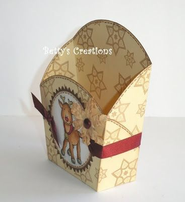 Bettys-creaciones: cajas de caramelo con Rudi y Santa