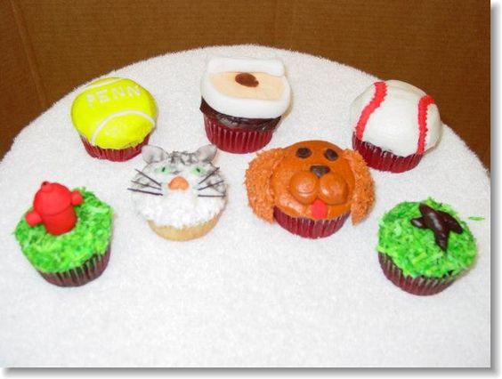 Love the doggie doodoo cupcake...
