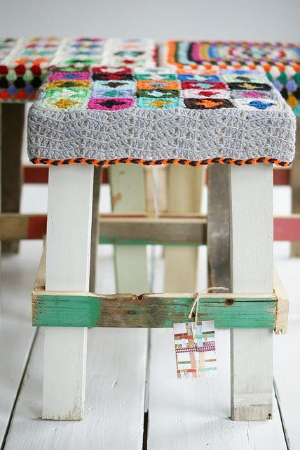 by wood & wool stool, via Flickr