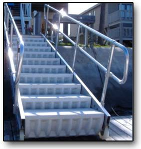 stairs that turn into a ramp at the touch of a button!! I WANT!!!!!!!!
