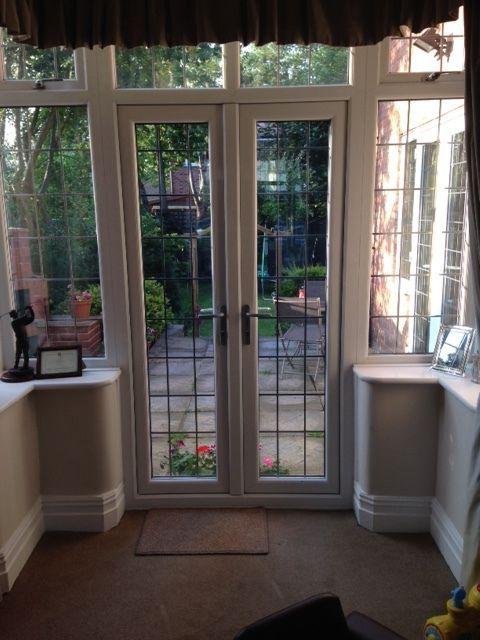 Upvc White French Doors And Bay Windows Inc Top Windows On Gumtree