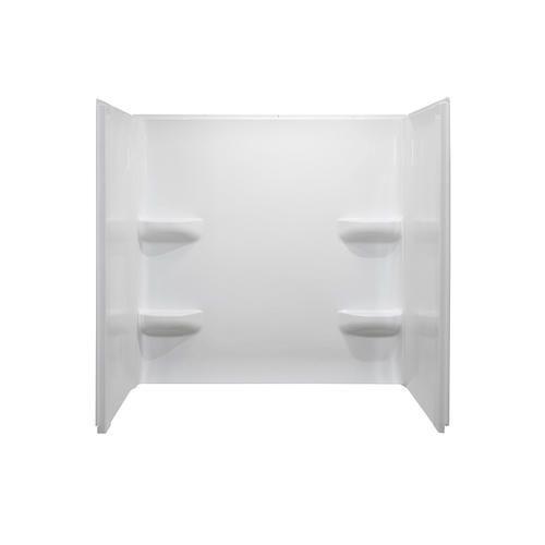 309 Plus 300 Shipping On 10 26 19 Lyons Elite 54 X 30 White Bathtub Wall Surround Bathtub Walls Bathtub Wall Surround Acrylic Bathtub