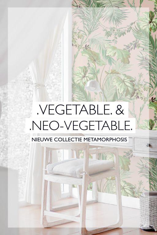 Behang Vegetable Neo Vegetable Coordonne In 2020 Behang Wallpaper Muurverf