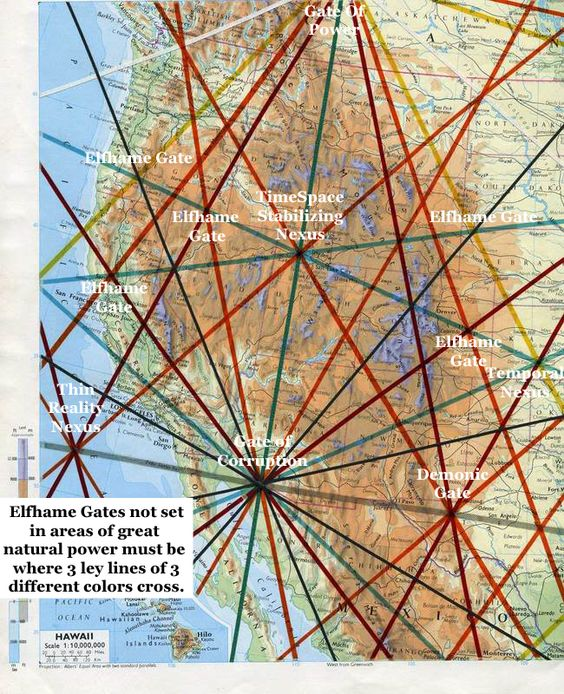 Magnetic Ley Lines Map Pennsylvania Pictures To Pin On
