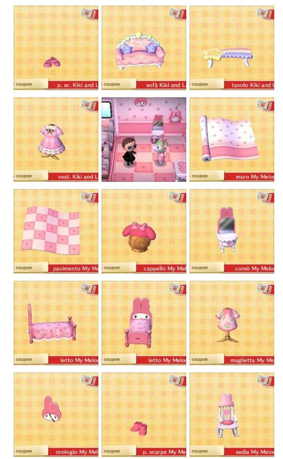 Carte Amiibo Sanrio Collection M Y M 233 Lodie Et Kiki And