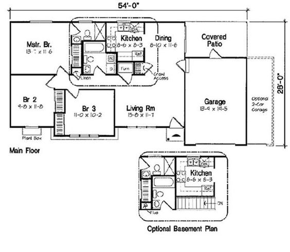 House plans home and basements on pinterest for Pole barn house plans with basement