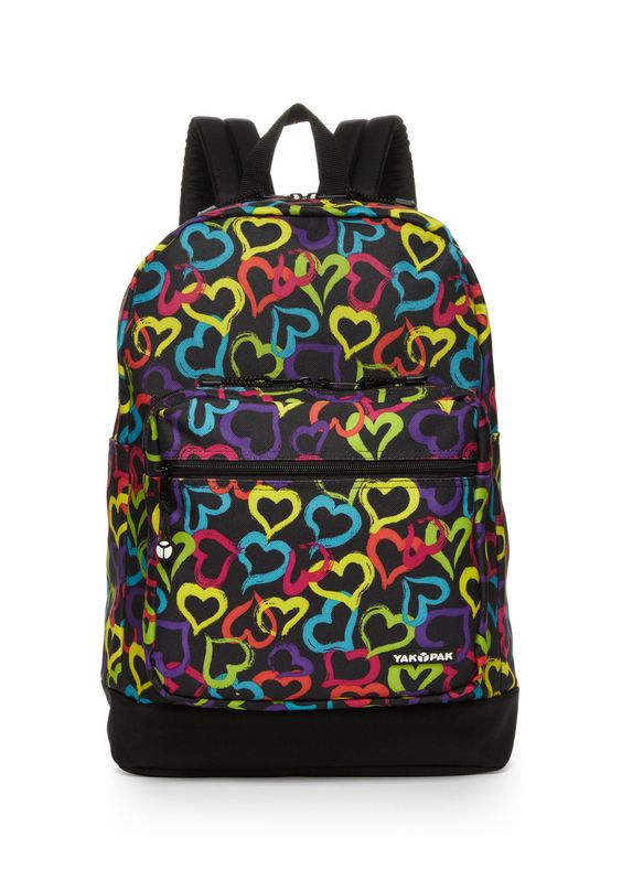 Deluxe Backpack Backpack; Features an allover print; Zipper compartment with front zipper pocket on front; Top zip closure; Small carry handle on top; Adjustable, padded shoulder straps on back; Solid bottom; Partially lined interior Backpack #ZipclosureBags #Backpacks