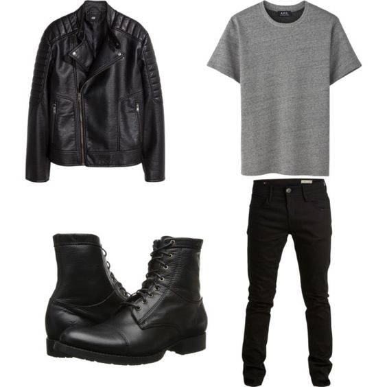 IDK by fashongirl676 on Polyvore featuring mode, H&M, Frye and SELECTED