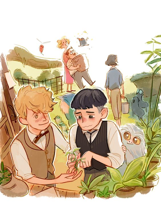 Fantastic Beasts and Where to Find Them doodle by Hallpen.deviantart.com on @DeviantArt: