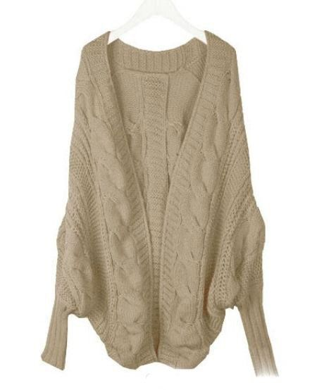 Off White Sweater Cardigans Warm Thick Winter White Cardigans for
