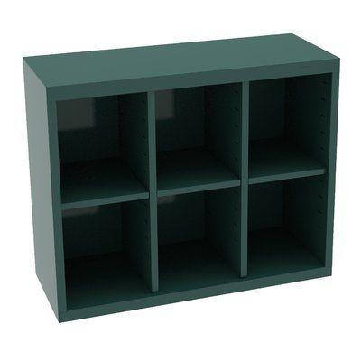 Tennsco Corp Storage Unit Bin 6 Compartment Cubby Cubby Storage Bins Cubby Storage Metal Storage Bins