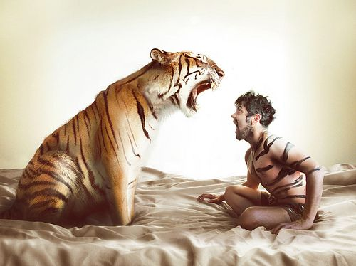 Tony's mornings after were always awkward....