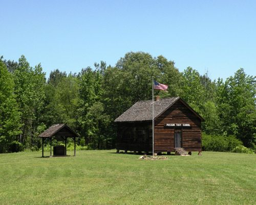 The Possum Trot School is located in the small upstate town of Gaffney. It was built in 1880 and is one of the few remaining one-room schools in South Carolina.