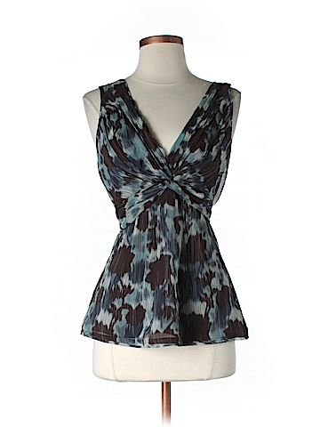 Tiny Flaw Size Sm BCBGMAXAZRIA Sleeveless Silk Top for Women