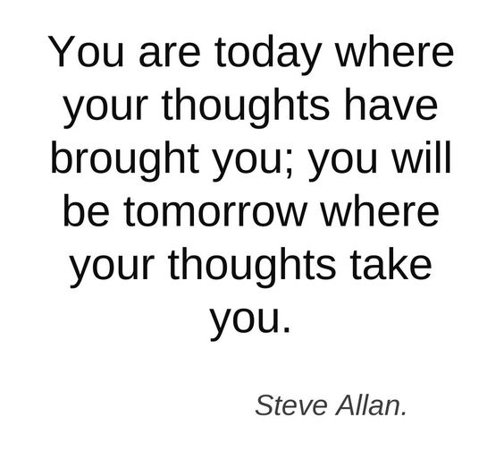 Importance of Thoughts.