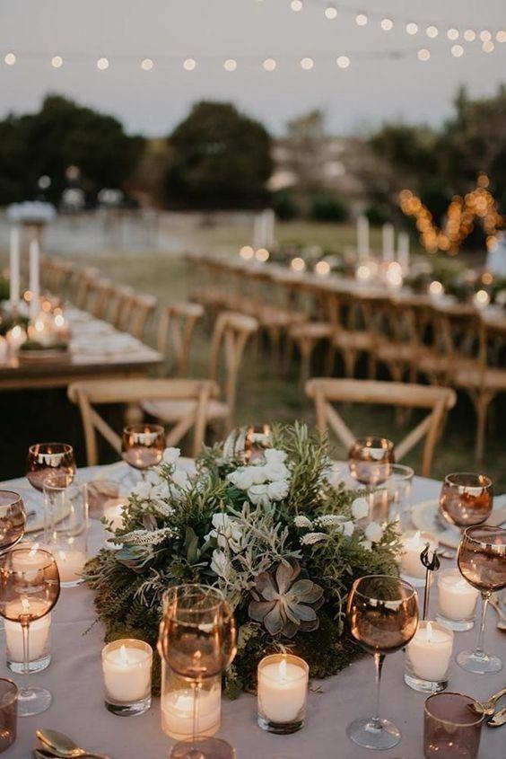 Jj Wedding Round Tables, Round Table Centerpieces Wedding