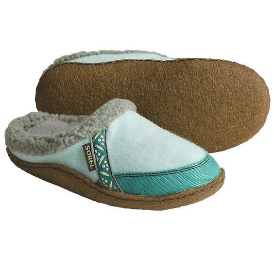 Sorel Felt Nakiska Slippers - Faux-Fur Lining (For Kids and Youth)