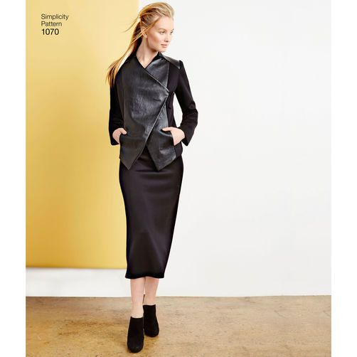 Simplicity Pattern 1070 Misses' Sew Stylish Sportswear Pattern