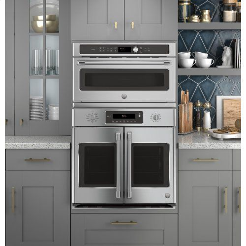 Ge Cafe Series Built In Microwave Convection Oven Wall Oven Kitchen Convection Wall Oven French Door Wall Oven