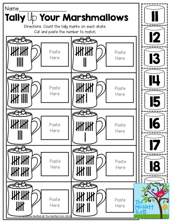 Counting Tally Marks Worksheet Kindergarten tally marks – Tally Mark Worksheet