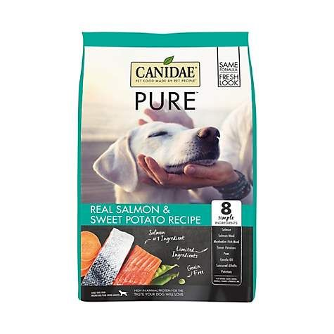 Canidae Pure Real Salmon Sweet Potato Limited Ingredient Grain