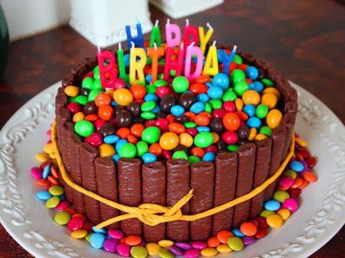 Fancy Birthday Cakes Candy Cute Fancy Birthday Cakes