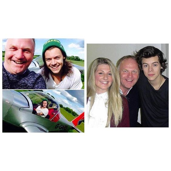 Harry's family friend Nick and his friend Scott passed away in a plane crash. Sending love to them, their families, and to Harry. 💖 #harrystyles -A