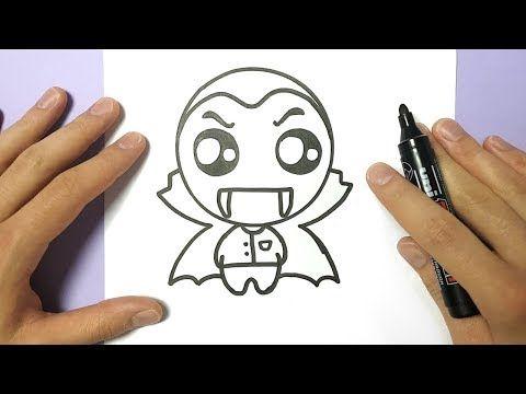 Comment Dessiner Dracula Kawaii Youtube En 2019 Dessin