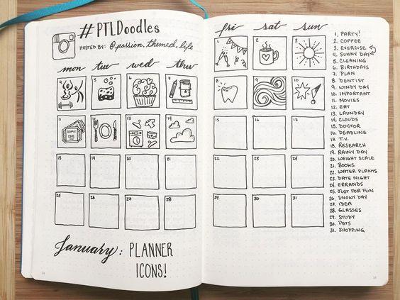 Ideeën voor vullen art journal