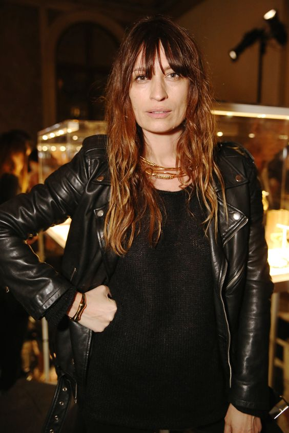 Caroline de Maigret at Aurélie Bidermann Fall 2015 Collection Cocktail Party | Allegory of Vanity