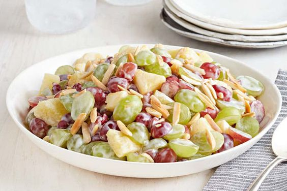 This isn't just any old fruit salad - our Creamy Grape Salad is full of fresh fruit flavour and great texture.