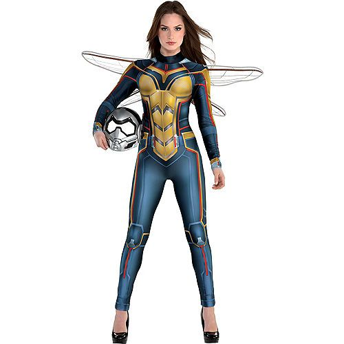 NEW ARRIVAL Women Ant-Man And The Wasp Cosplay Costume Halloween Custom Made