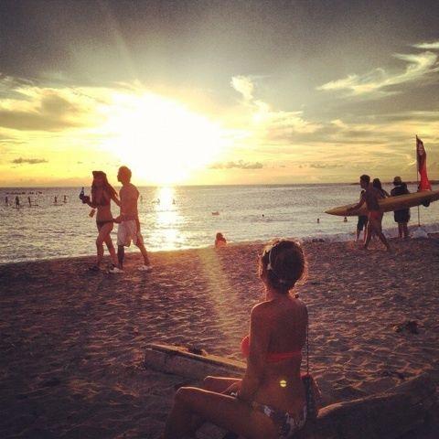…sunset