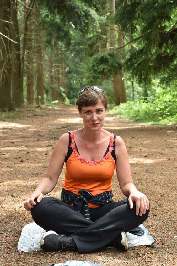 Wandelen met Tanja van Mierlo Adem in adem uit met Gianne was heel gezellig in de Drunense duinen