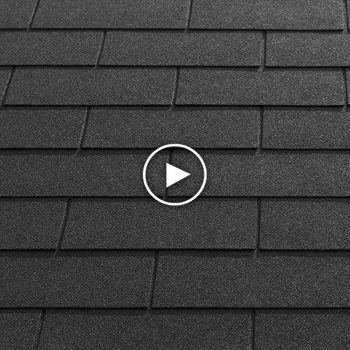 Katepal Self Adhesive 3 Tab Sbs Bitumen Roofing Shingles 2 4m2 Black Roof Shingles Roofing Shingling