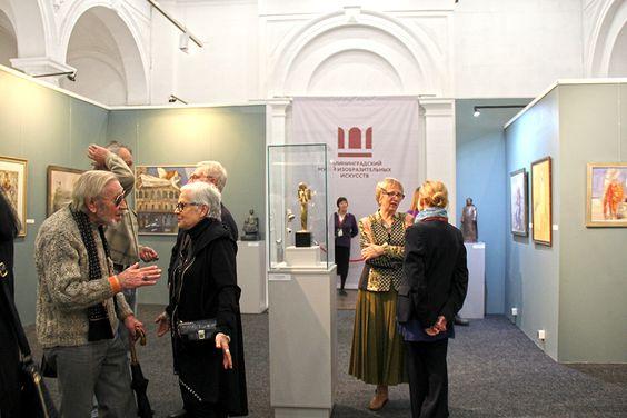 На выставке в Музее изобразительных искусств в Калининграде. Фото Жени Шведы
