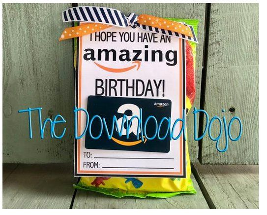 Amazon Birthday Gift Card Holder Amazon Gift Card Instant Etsy Birthday Card Holder Birthday Gift Cards Gift Card Holder