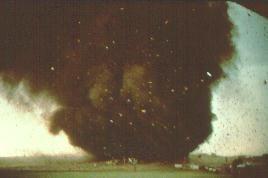 Plainfield Tornado Raw Photo
