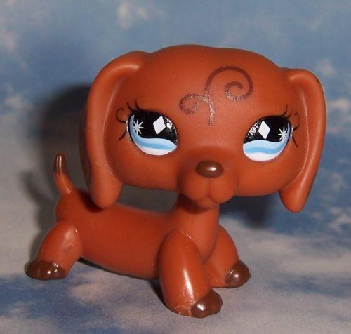 lps brown dog littlest - photo #3