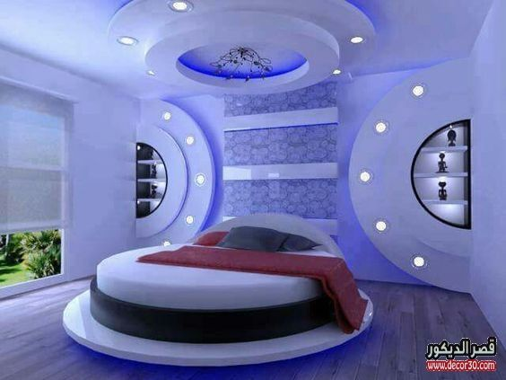 دهانات غرف نوم الوان الحوائط الحديثة Modern Bedroom Paints قصر الديكور False Ceiling Bedroom Ceiling Design Bedroom False Ceiling Design