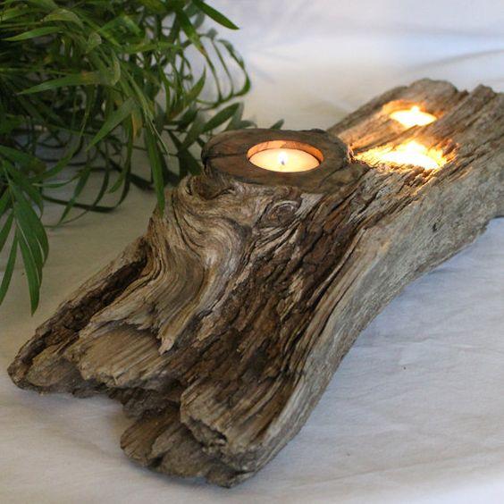 Driftwood centerpiece centerpieces large lanterns and