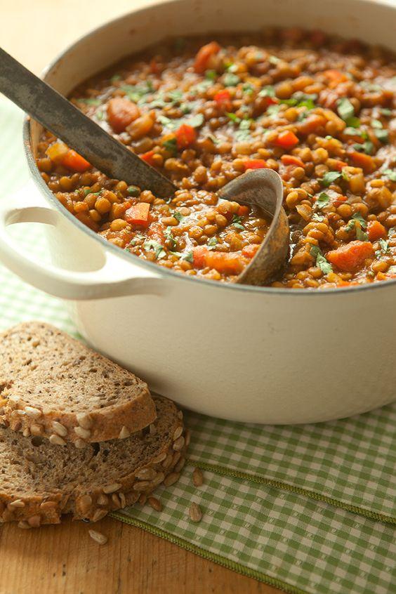 Healthy Dinner Recipes - Lentil Chili