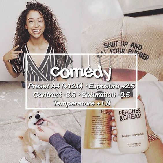 » @lizakoshy's filter » looks best with: any brown tones « tag celeb or famous accs to reveal their filters