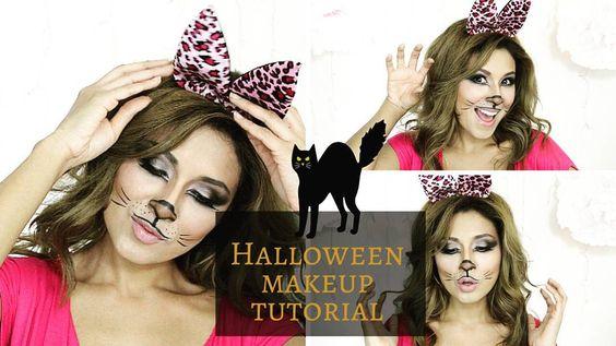 #Halloweenmakeuptutorial #isuponmychannnelnow #Glam #Kitty #tutorial #gatitaglamurosa #EveCampbellMakeupBox  Go watch my video here is the link:  https://youtu.be/1EUeFtBEexQ