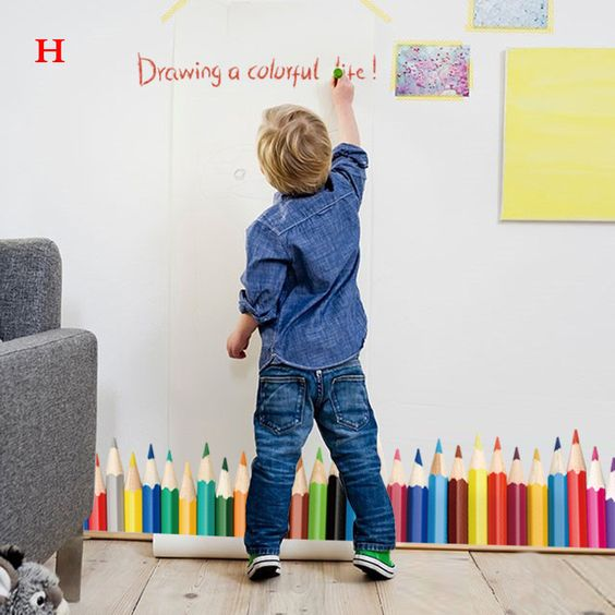 24 styles Skirting Wall Stickers Decal