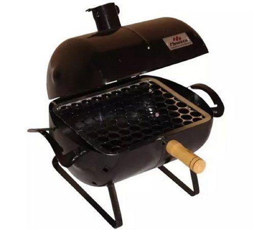 Mini Churrasqueira A Bafo Carvão Grill Para Mesa Casaclique Para Você E Sua Casa Churrasqueira Churrasqueira De Tambor Churrasqueira Portátil