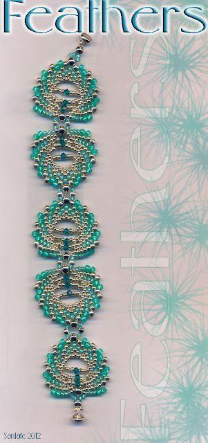 Santafe's Site  Jaycee feather bracelet